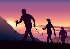 mountains adventure-walking